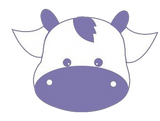 Miniature Milk Cow Emblem