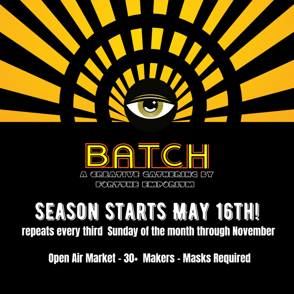 BATCH: A Makers Market is coming back!