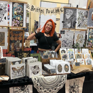 Brittni Paul: Living Ghosts Solo Art Show