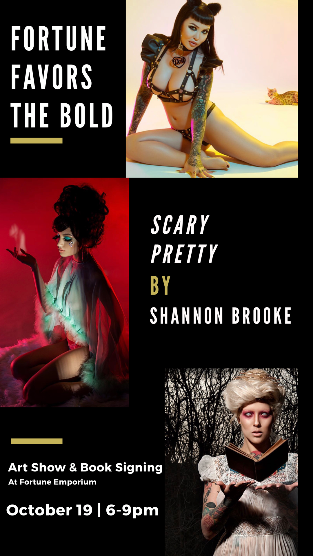 Fortune Favors The Bold: Scary Pretty featuring Shannon Brooke