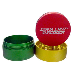 Santa Cruz Medium 3pc Grinder - GRINDERS - SANTA CRUZ SHREDDER - thc420ca2