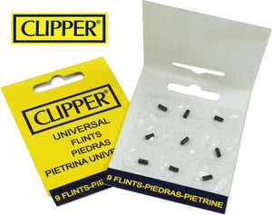 Clipper Flints 9 Pack