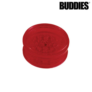 BUDDIES PLASTIC MAGNETIC 2PC GRINDER
