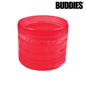 BUDDIES PLASTIC MAGNETIC 4PC GRINDER