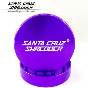 Sant Cruz Larger 2pc Grinder - GRINDERS - SANTA CRUZ SHREDDER - thc420ca2