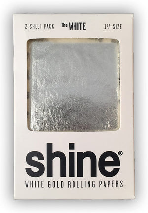 Shine 24K White Gold Papers