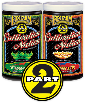 Fox Farm - 'Cultivation Nation' 2 Part Soluble Nutrients