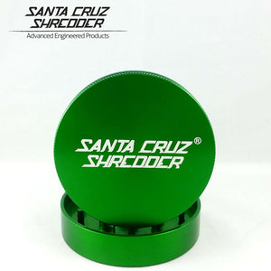 Santa Cruz Medium 2pc Grinder - GRINDERS - SANTA CRUZ SHREDDER - thc420ca2