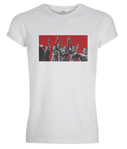 REBEL Tee: Power Girls (Rouge)
