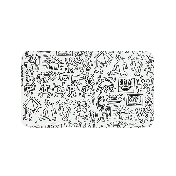 Black & White K.Haring Tray