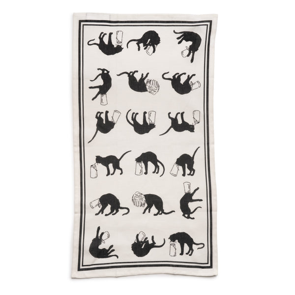 Steinlen Cats Tea Towel