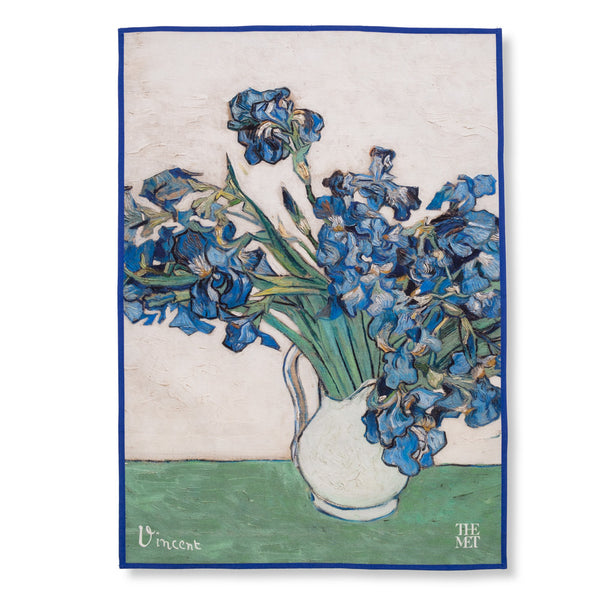 """Irises"" Tea Towel x Vincent van Gogh"