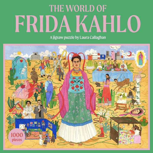 The World of Frida Kahlo Puzzle - 1,000 Pieces