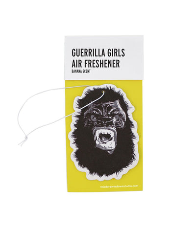 Eliminate the Stench Air Freshener x Guerrilla Girls