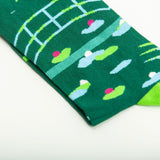 Water Lily Pond Socks