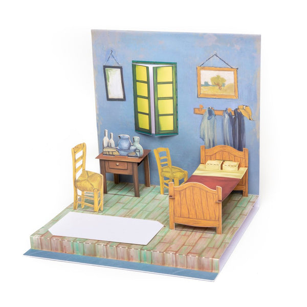 """Bedroom in Arles"" Pop-Up Card"
