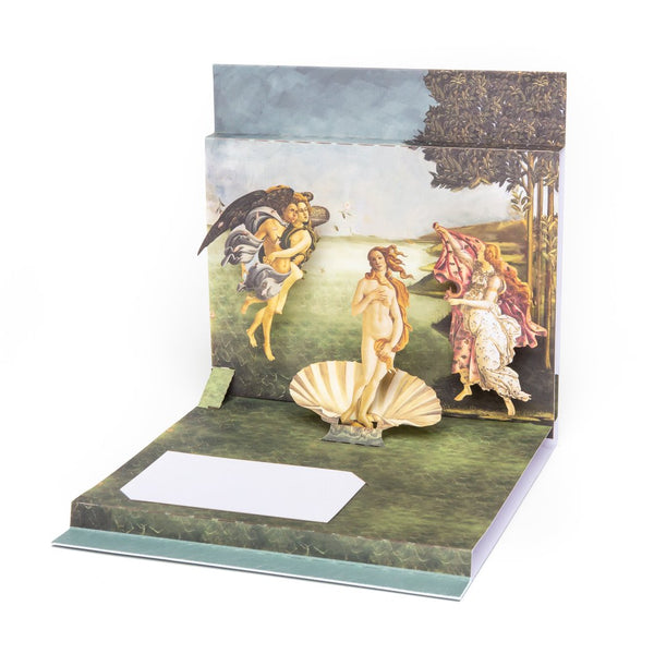 """The Birth of Venus"" Pop-Up Card"