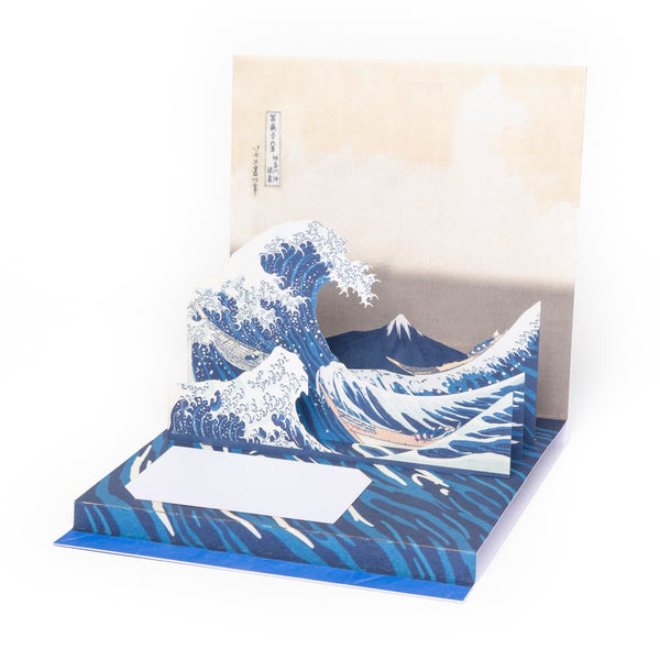 """The Great Wave"" Pop-Up Card"
