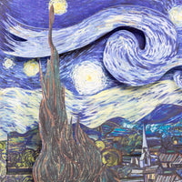 """The Starry Night"" Pop-Up Card"