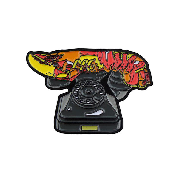 """Lobster Telephone"" Enamel Pin"