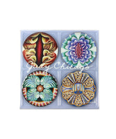 Judy Chicago's The Dinner Party Coasters