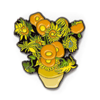 """Sunflowers"" Enamel Pin"