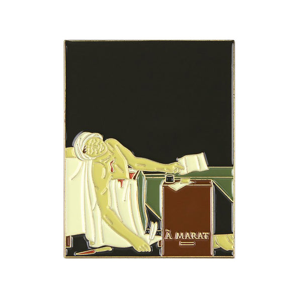 """Death of Marat"" Enamel Pin"