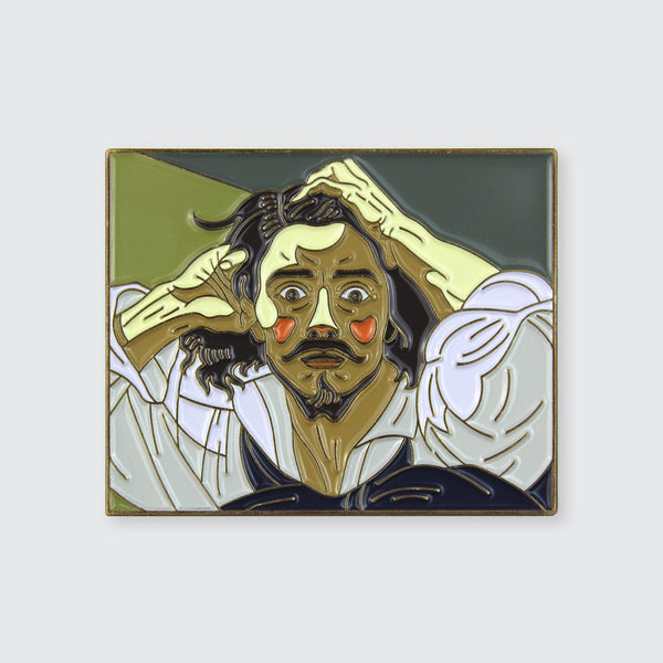"""The Desperate Man"" Enamel Pin"