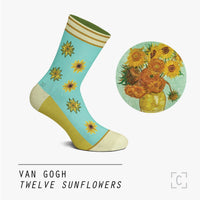 Twelve Sunflowers Socks
