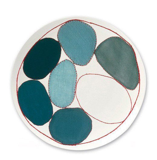 Blue Circles Fine Bone China Plate x Louise Bourgeois