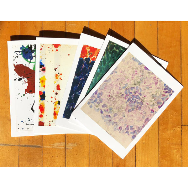 Sam Francis Notecards