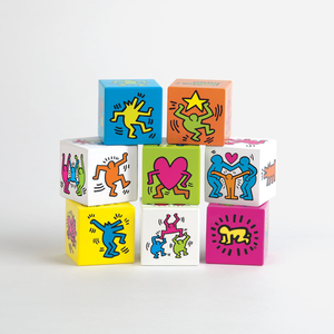 Keith Haring Wooden Blocks