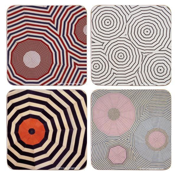 Corkboard Coaster Set X Louise Bourgeois