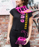 """Conscience of the Art World"" Scarf x Guerrilla Girls"