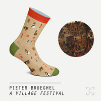 A Village Festival Socks