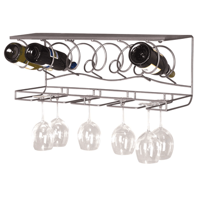 Wine Bar Wine Rack- 6 Bottle