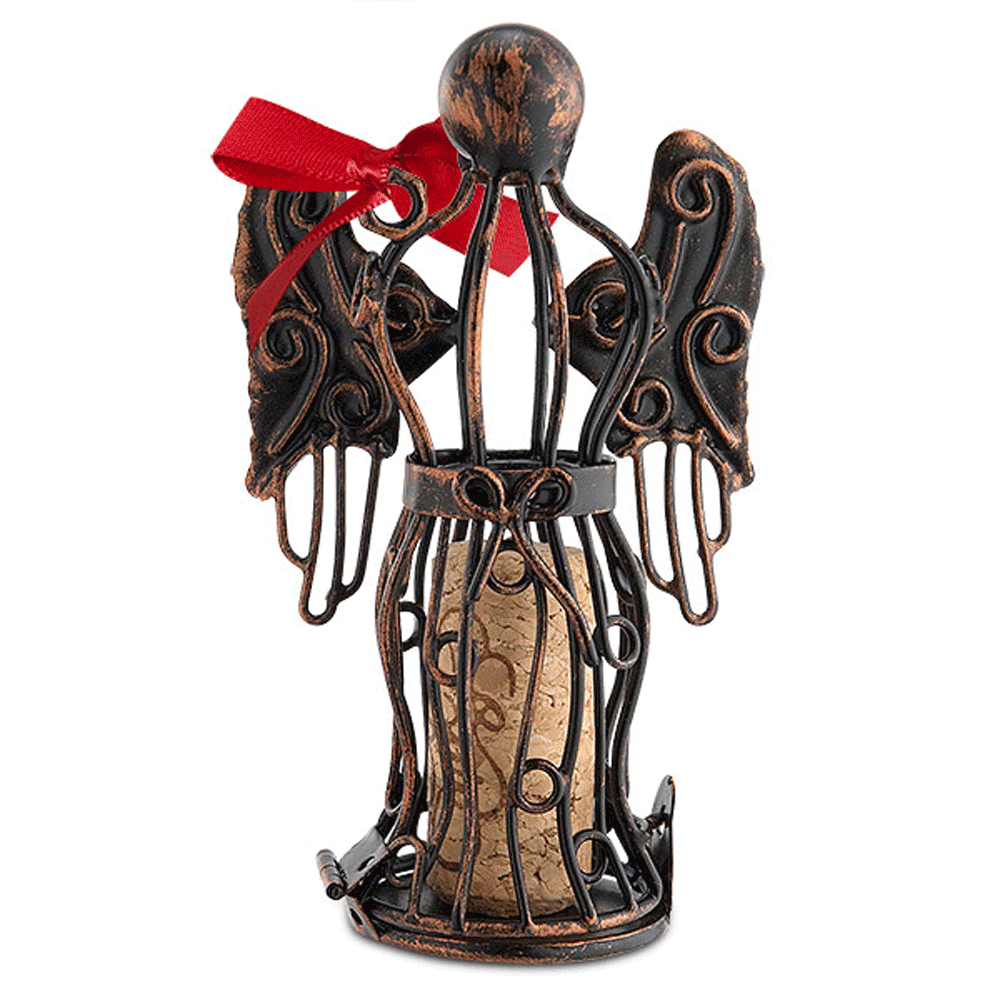 Angel Cork Cage Ornament