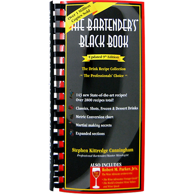 The Bartender's Black Book (Tenth Edition)