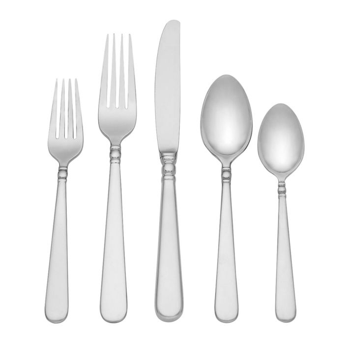 Lenox Pearl Platinum 20-Piece Flatware Set