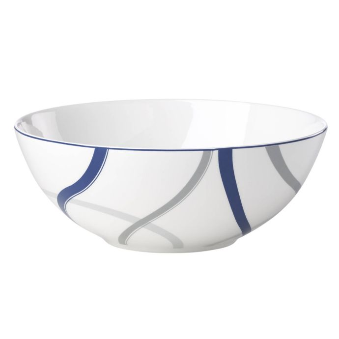 Lenox Vibe Serving Bowl in Blue