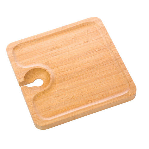 True Fabrications Bamboo Appetizer Plate