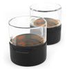 Metrokane Rabbit Freezable Whiskey Glasses (Set of 2)