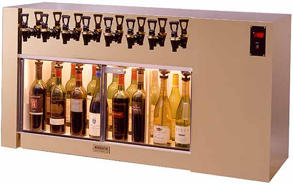 Winekeeper 12 Wine Bottle Magnum (8 Bottle Shown)