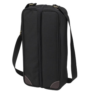 Picnic at Ascot Sunset Deluxe Wine Carrier - Black