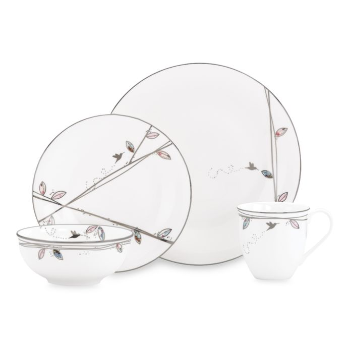 Lenox Silver Song 4-Piece Place Setting