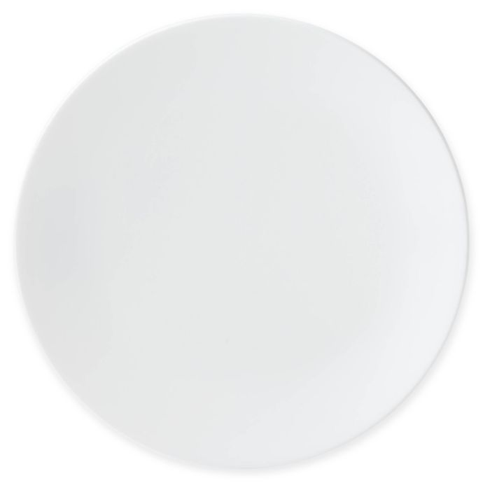 Lenox I.D. White Coupe Accent Plate