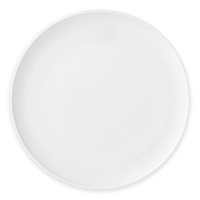 Lenox I.D. White Walled Dinner Plate