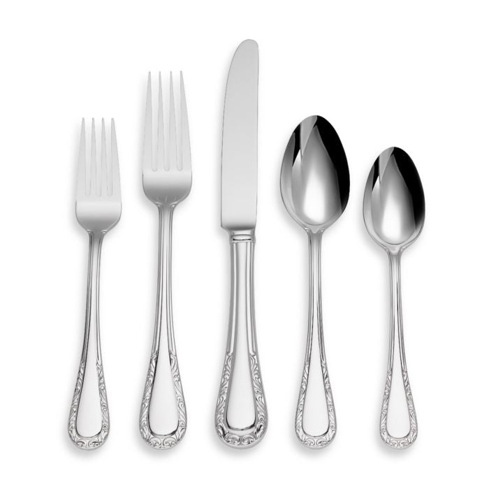 Lenox Venetian Lace 5-Piece Flatware Place Setting