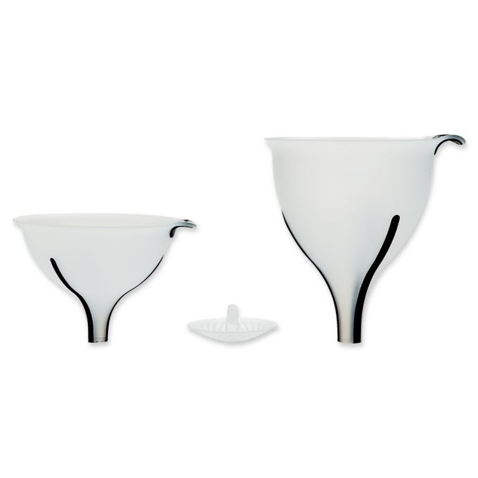 OXO Good Grips 3-Piece Funnel Set