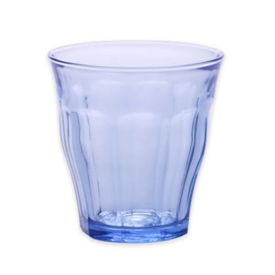 Duralex 7.75-Ounce Picardie Tumblers in Marine Blue (Set of 6)
